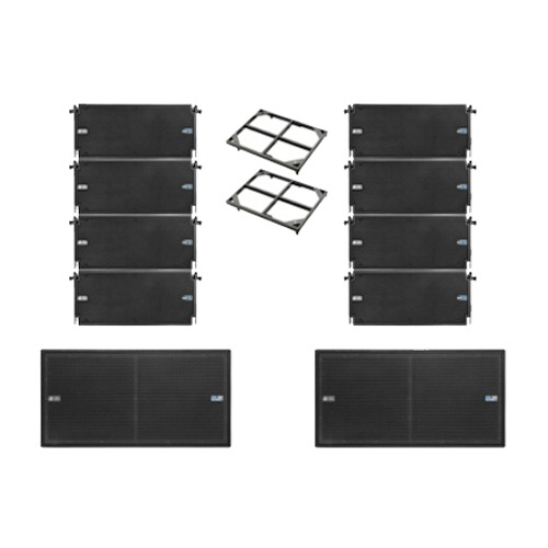 DVA line-array set (500 personen)